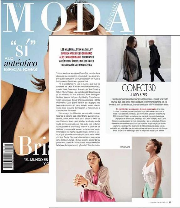 Prensa Diana Fraga maquillaje estilismo Revista Moda