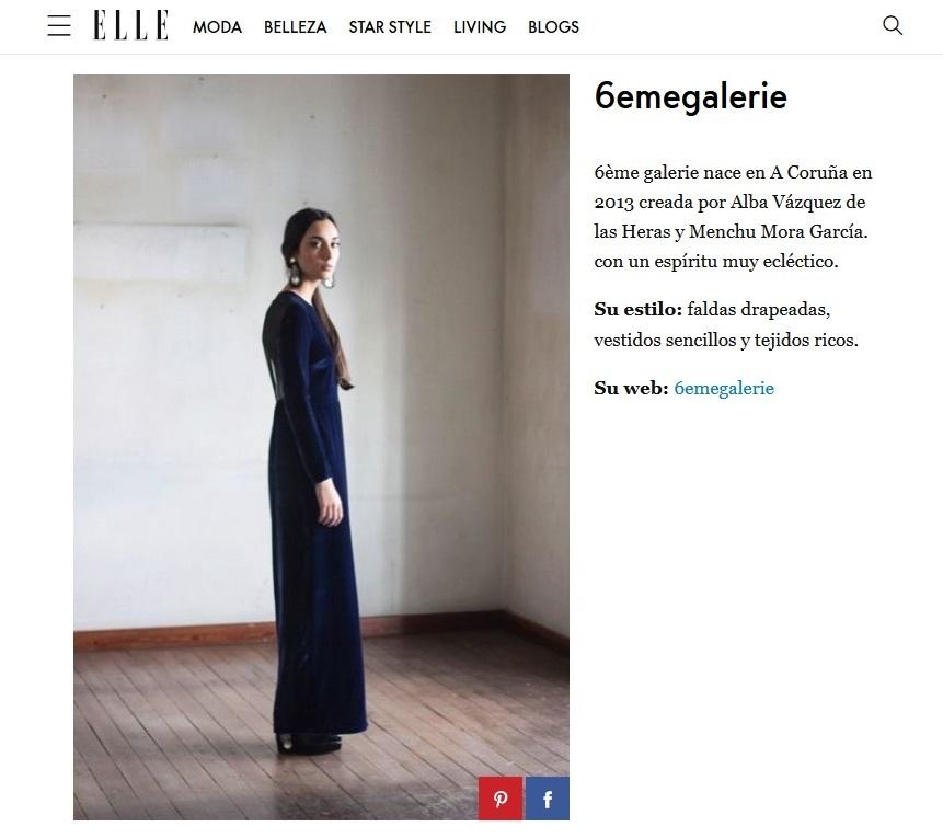 Prensa Diana Fraga maquillaje estilismo - Editorial de moda Elle