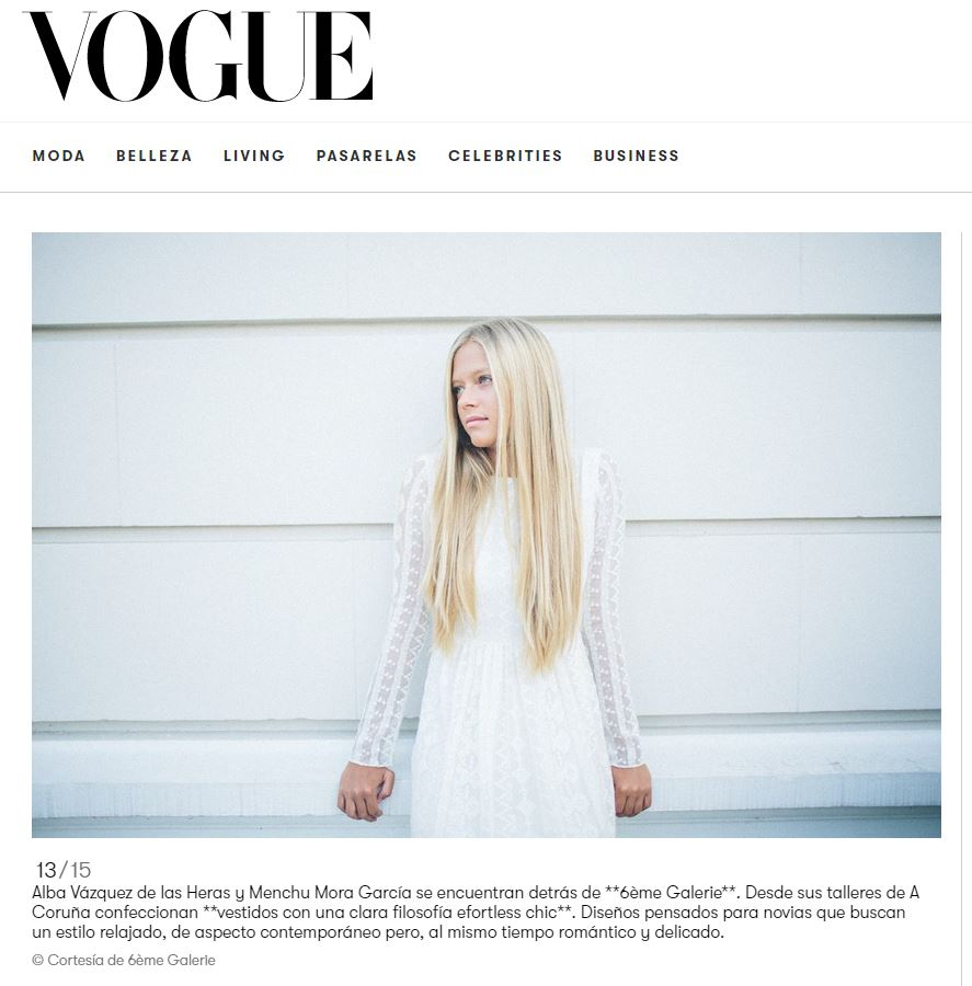 Diana Fraga Maquillaje Bodas Prensa - Editorial novias - Vogue