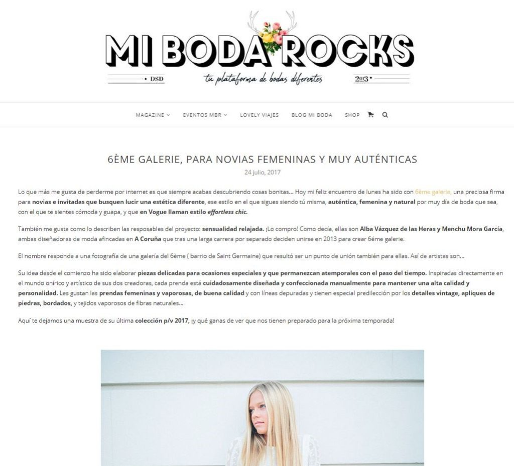 Diana Fraga Maquillaje moda Prensa - Editorial novias - Mi boda Rocks
