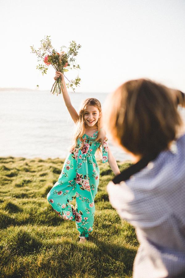 Editorial infantil moda Diana Fraga maquillaje y estilismo